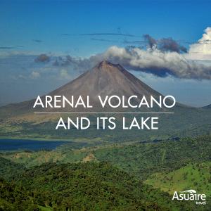 Arenal vocano and its lake