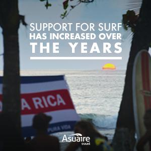 surfing in costa rica