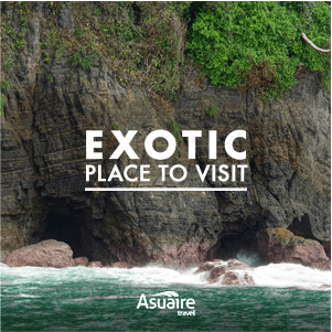 Exotic place in Costa Rica