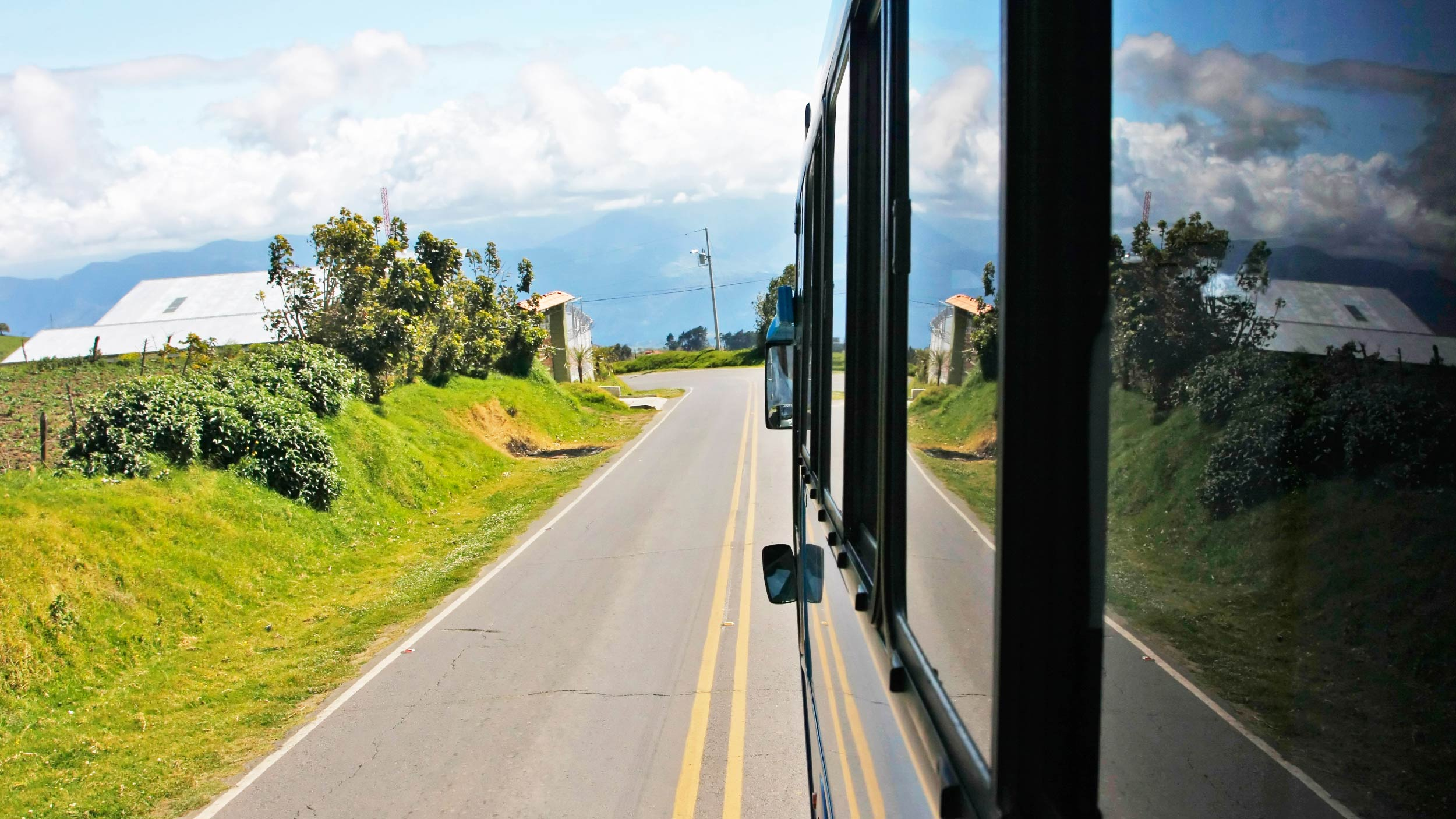 travelling to Monteverde in Costa Rica