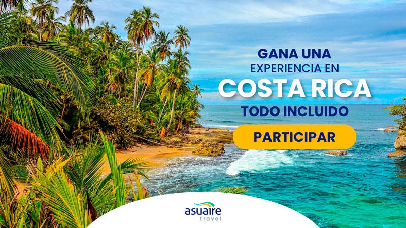 Gana una experiencia en Costa Rica