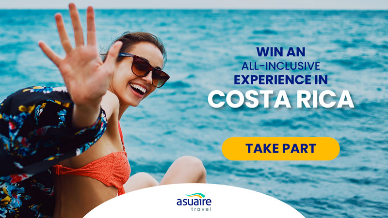 Win an all inclsuive experience in Costa Rica
