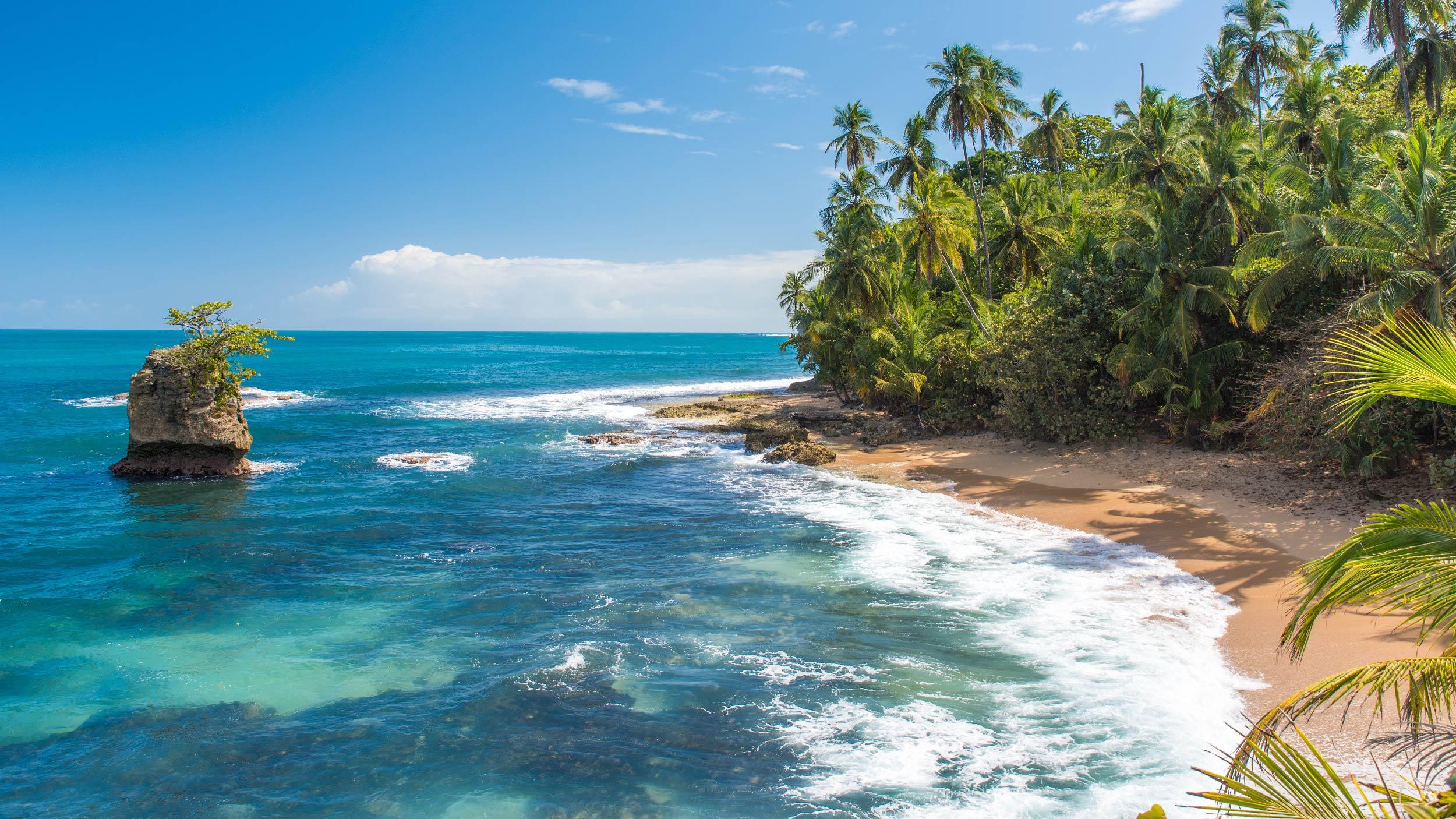 playas del Caribe en Costa Rica