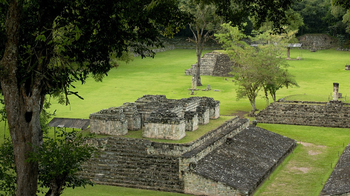 Copan ruins, for tourists eager for adventure