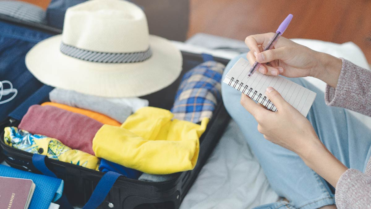 Don't pack too much in your suitcase