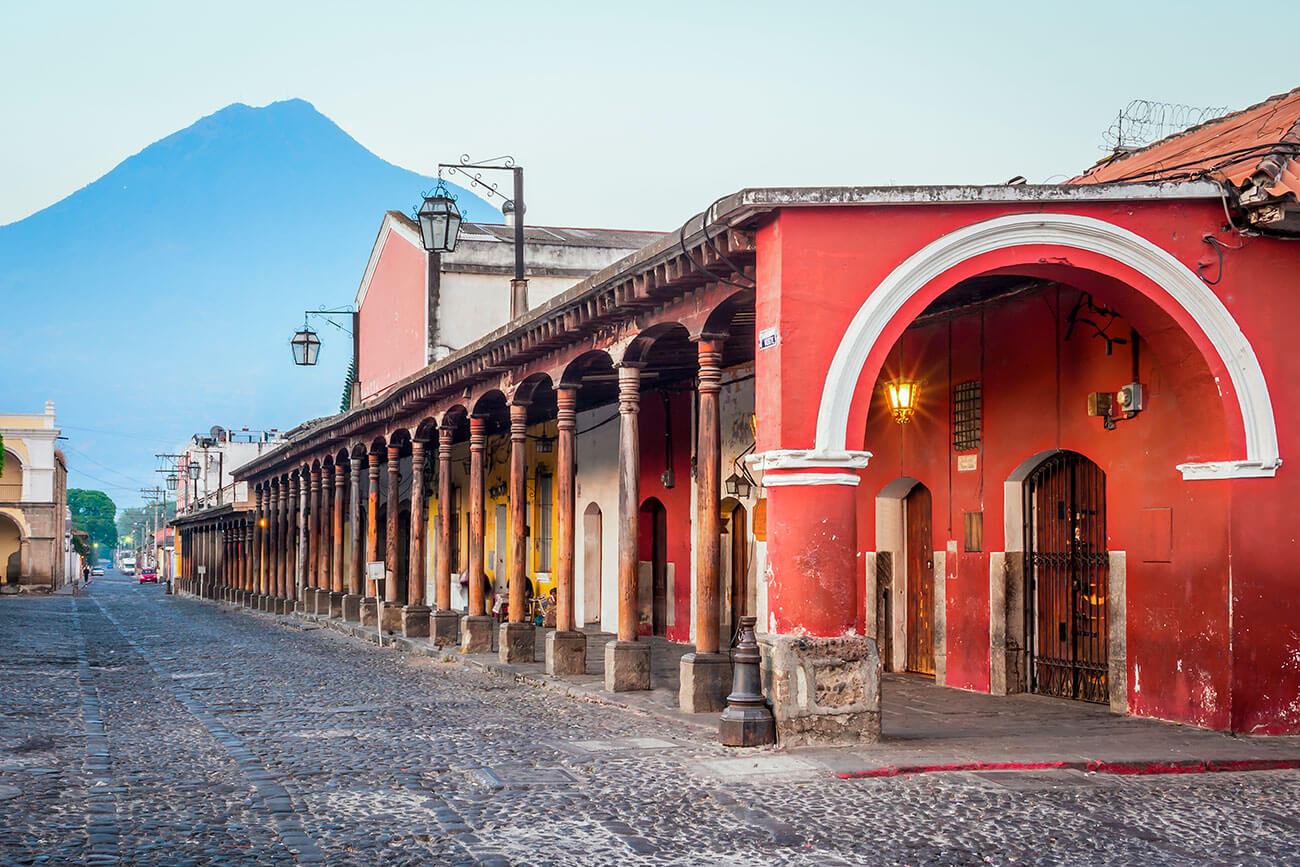 Viaje a Ciudades Coloniales de Guatemala; Excursión a Antigua Guatemala