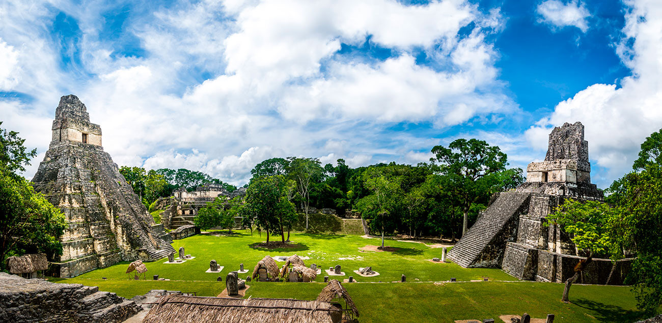 Circuito Combinado Guatemala y Tikal; Vacaciones a Guatemala y Copán por 12 Días